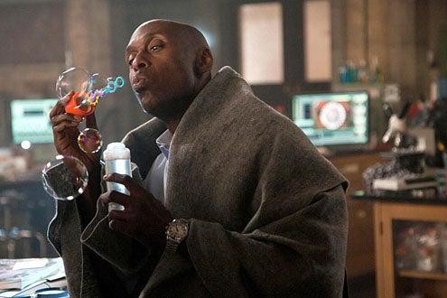 "Fringe - Season 3 - ""Lysergic Acid Diethylamide"" - Lance Reddick as Broyles"