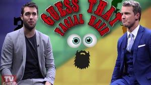 Josh Bowman and Freddie Stroma Play Guess That Facial Hair!