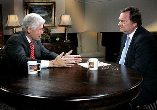 Meet the Press - Bill Clinton, Tim Russert