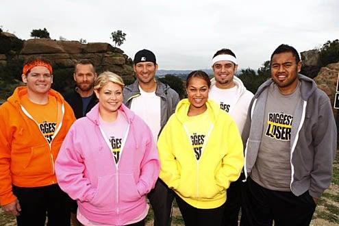 The Biggest Loser - Season 9 - Daris George, Bob Harper, Ashley Johnston, Tony Romo, Sunshine Hampton, Michael Ventrella, Koli Palu