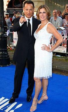 """Tom Hanks and Rita Wilson - The """"Mamma Mia!"""" world premiere in London, June 30, 2008"""