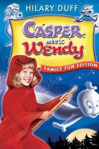 Casper Meets Wendy as Baseball Announcer