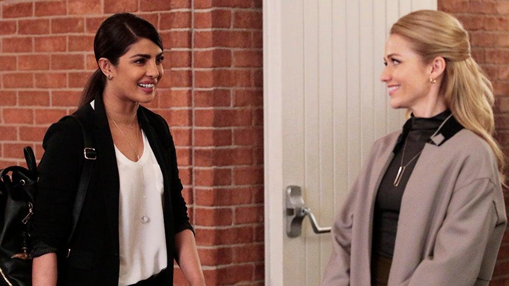 Priyanka Chopra and Johanna Braddy, Quantico