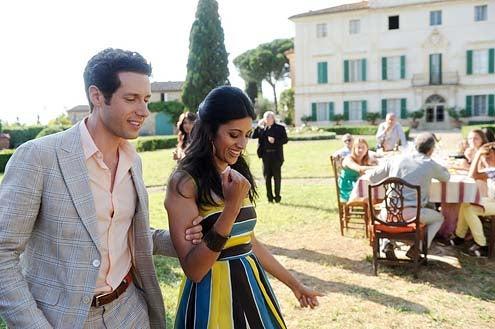 "Royal Pains - Season 5 - ""Game of Phones"" - Paulo Costanzo and Reshma Shetty"