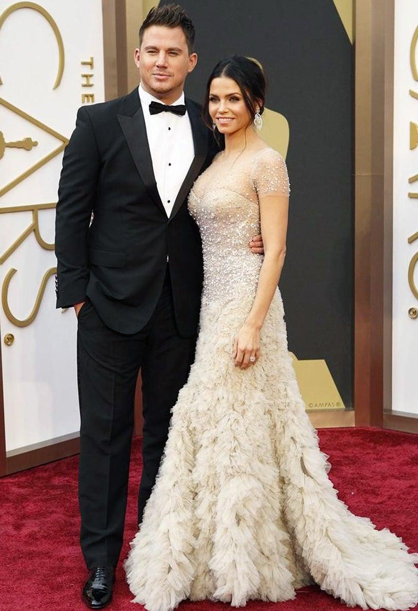 Channing Tatum and Jenna Dewan-Tatum - 86th Annual Academ Awards in Hollywood, California, March 2, 2014