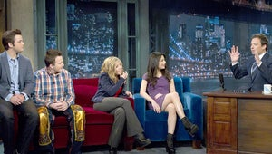 Exclusive Video: Jimmy Fallon Surprises the iCarly Gang