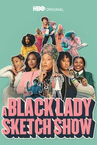 A Black Lady Sketch Show as Herself