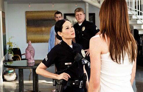 "Southland - Season 4 - ""Risk"" - Lucy Liu and Michael Cudlitz"