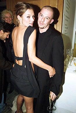 Kate Moss & Alexander McQueen - January 29, 2002 - London