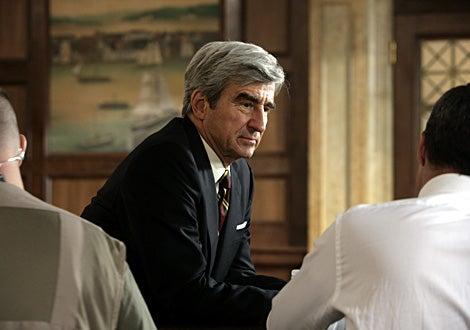 "Law & Order - Season 17, ""Profiteer""- Sam Waterston as Executive Assistant DA Jack McCoy"