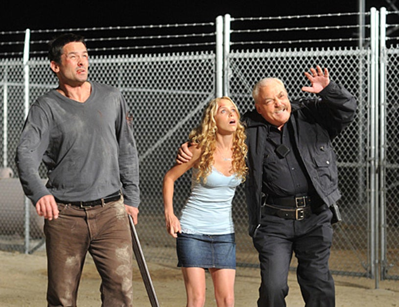 Meteor - Billy Campbell as Jack, Mimi Michaels as Jenny, Stacy Keach as Sheriff Crowe