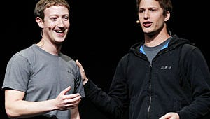 VIDEO: Andy Samberg Impersonates Mark Zuckerberg at Facebook Conference