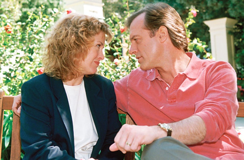 """7th Heaven - Catherine Hicks as """"Annie Camden"""" and Stephen Collins as """"Rev. Eric Camden"""""""