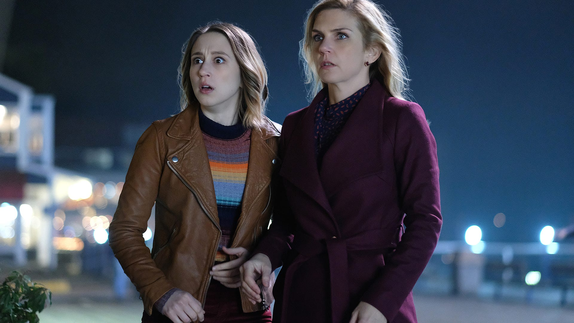 "Taissa Farmiga and Rhea Seehorn in ""Not All Men,"" The Twilight Zone"