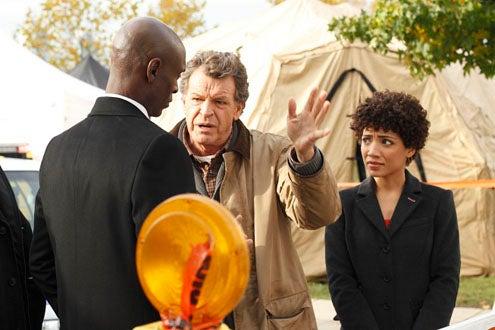 """Fringe - Season 2 - """"What Lies Below"""" - Lance Reddick, John Noble and Jasika Nicole"""