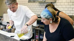 Kitchen Nightmares Exclusive Video: How Falafel! Chef Ramsay Bans Chef From Her Restaurant