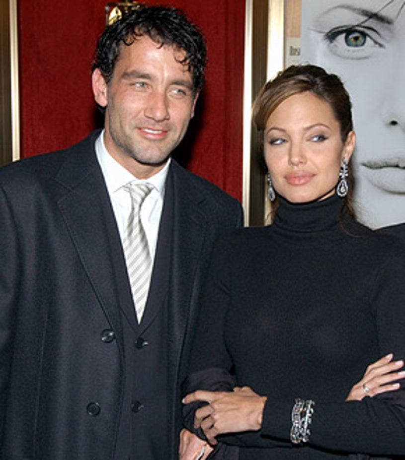 """Clive Owen and Angelina Jolie - World Premiere of """"Beyond Borders"""""""