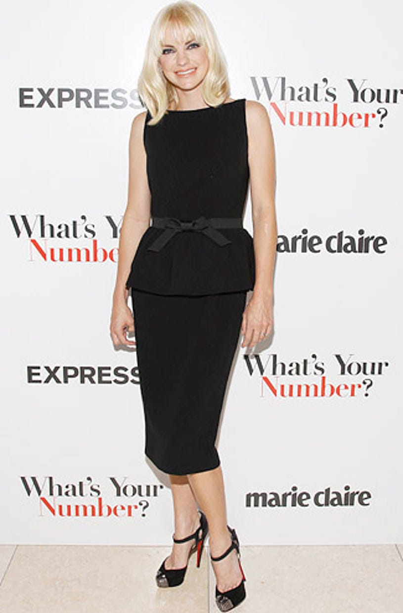 """Anna Faris - The Exclusive Screening of """"What's Your Number?"""" in New York City, September 27, 2011"""
