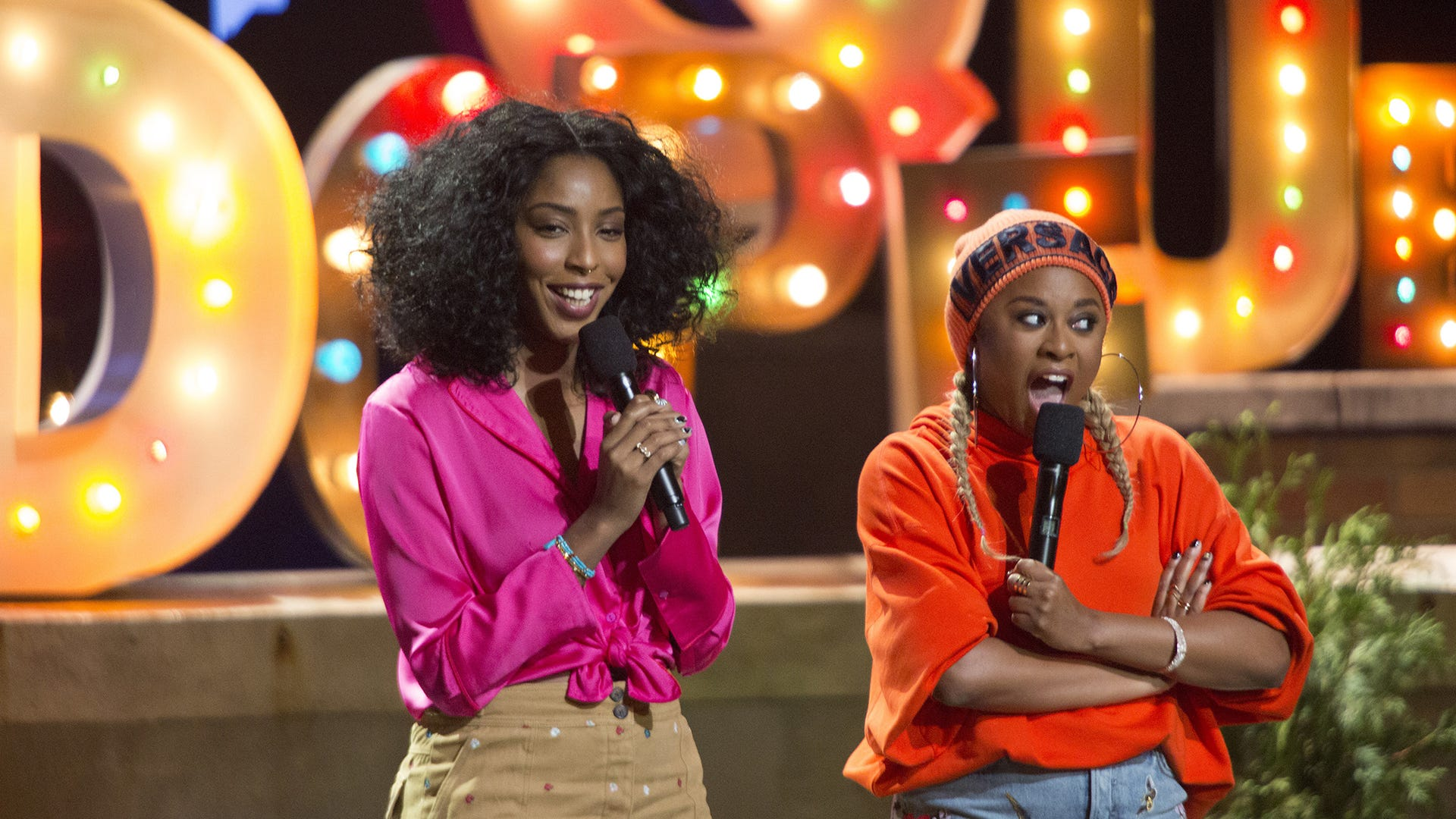 Jessica Williams and Phoebe Robinson, 2 Dope Queens