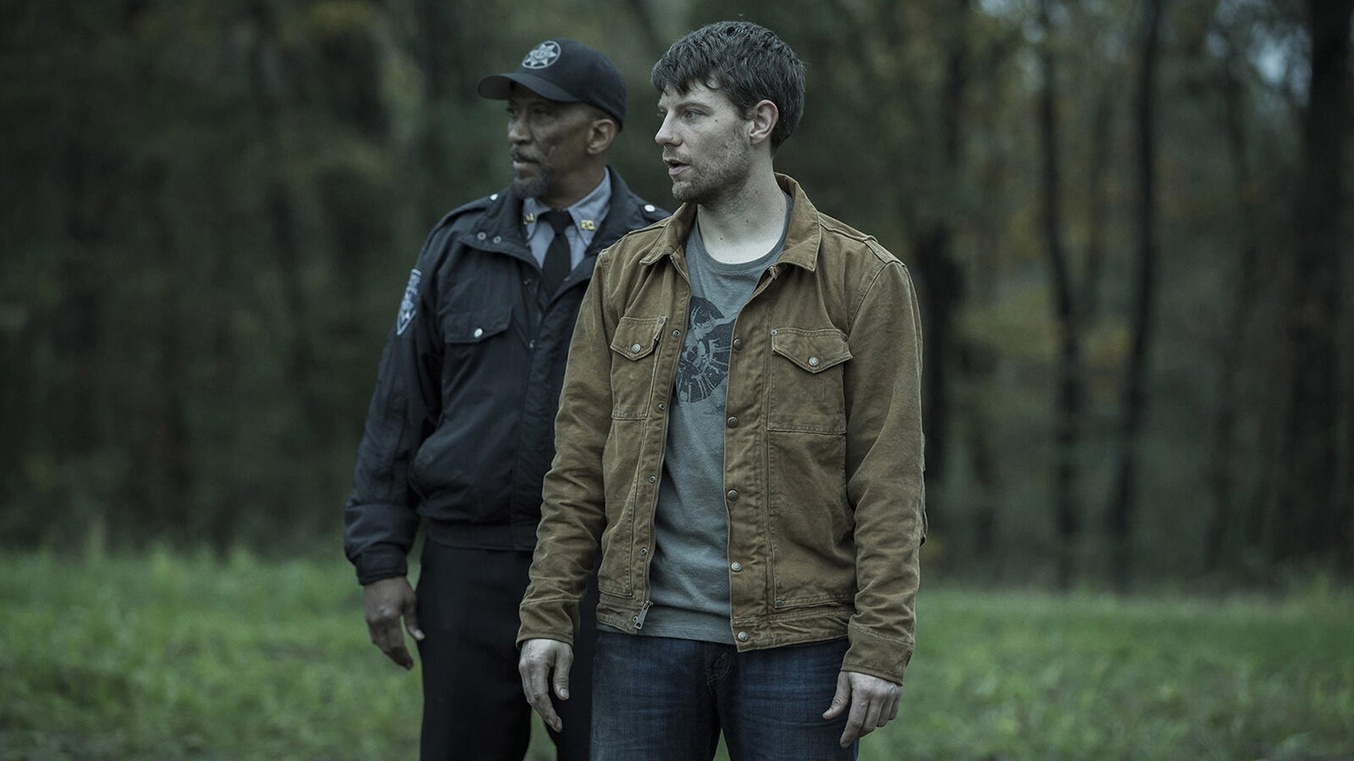 Reg E. Cathey and Patrick Fugit, Outcast
