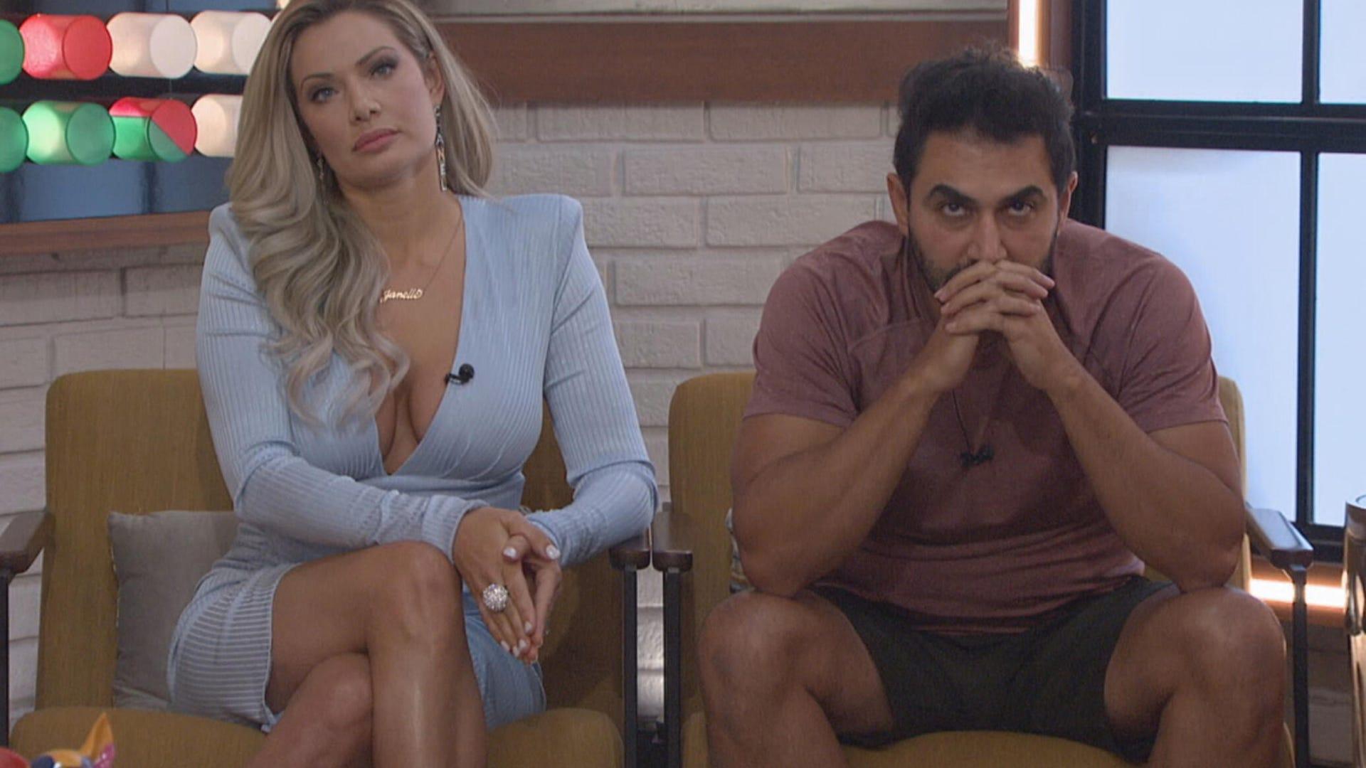 Janelle Pierzina and Kaysar Ridha, Big Brother All-Stars