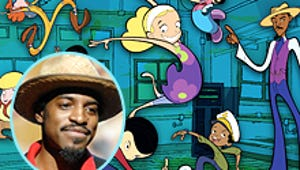 Andre Benjamin Previews His New 'Toon, Class of 3000