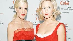 90210 Reunion! Jennie Garth Joins Tori Spelling's Mystery Girls Pilot