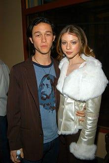 """Joseph Gordon-Levitt and Michelle Trachtenberg - The 2005 Sundance Film Festival """"Mysterious Skin"""" cocktail party in Park City, Utah, January 28, 2005"""