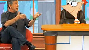VIDEO Exclusive: Tom Bergeron Reveals a Hidden Talent on Take Two with Phineas and Ferb
