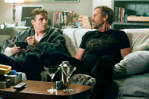 "House - Season 8 - ""The C-Word"" - Robert Sean Leonard and Hugh Laurie"