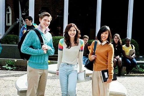 "The Carrie Diaries - Season 1 - ""Pilot"" - Brendan Dooling, Katie Findlay and Ellen Wong"