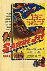 Sabre Jet as Lt. Col. George Eckert