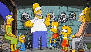 The Simpsons Get Exiled From Springfield in Their 500th Episode