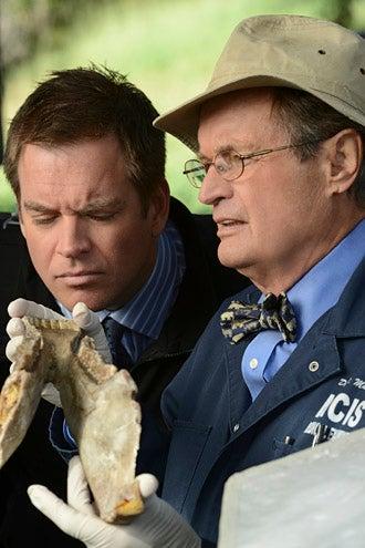 "NCIS - Season 9 - ""Till Death Do Us Part"" - Michael Weatherly and David McCallum"