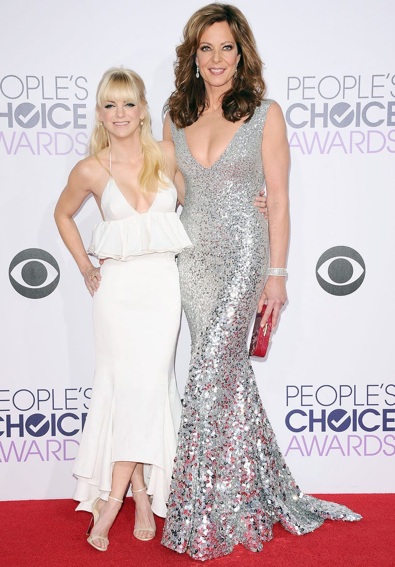 Anna Faris and Allison Janney - 41st Annual People's Choice Awards in Los Angeles, California, January 7, 2015
