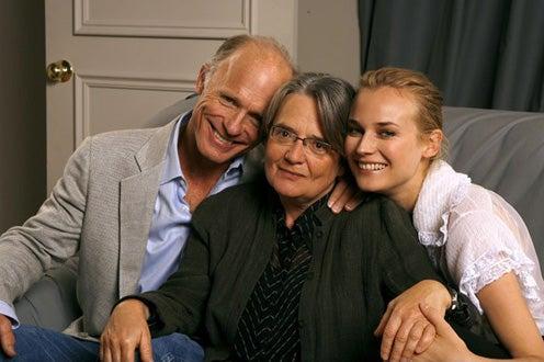 """Ed Harris, Agnieszka Holland, Diane Kruger - """"Copying Beethoven"""" portraits, Sept. 2006"""