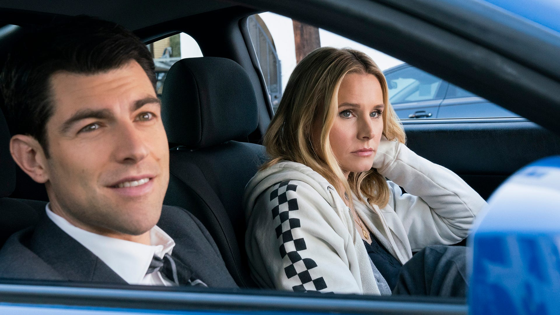 Max Greenfield and Kristen Bell, Veronica Mars