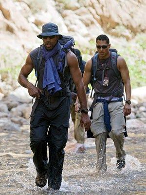 "Expedition Impossible - Season 1 - ""Sun! Sand! Sahara!"" - Akbar Gbaja-Biamila and Ricky Sharpe"