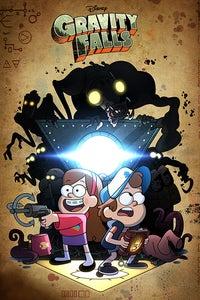 Gravity Falls as The Horrifying Sweaty One-Armed Monstrosity