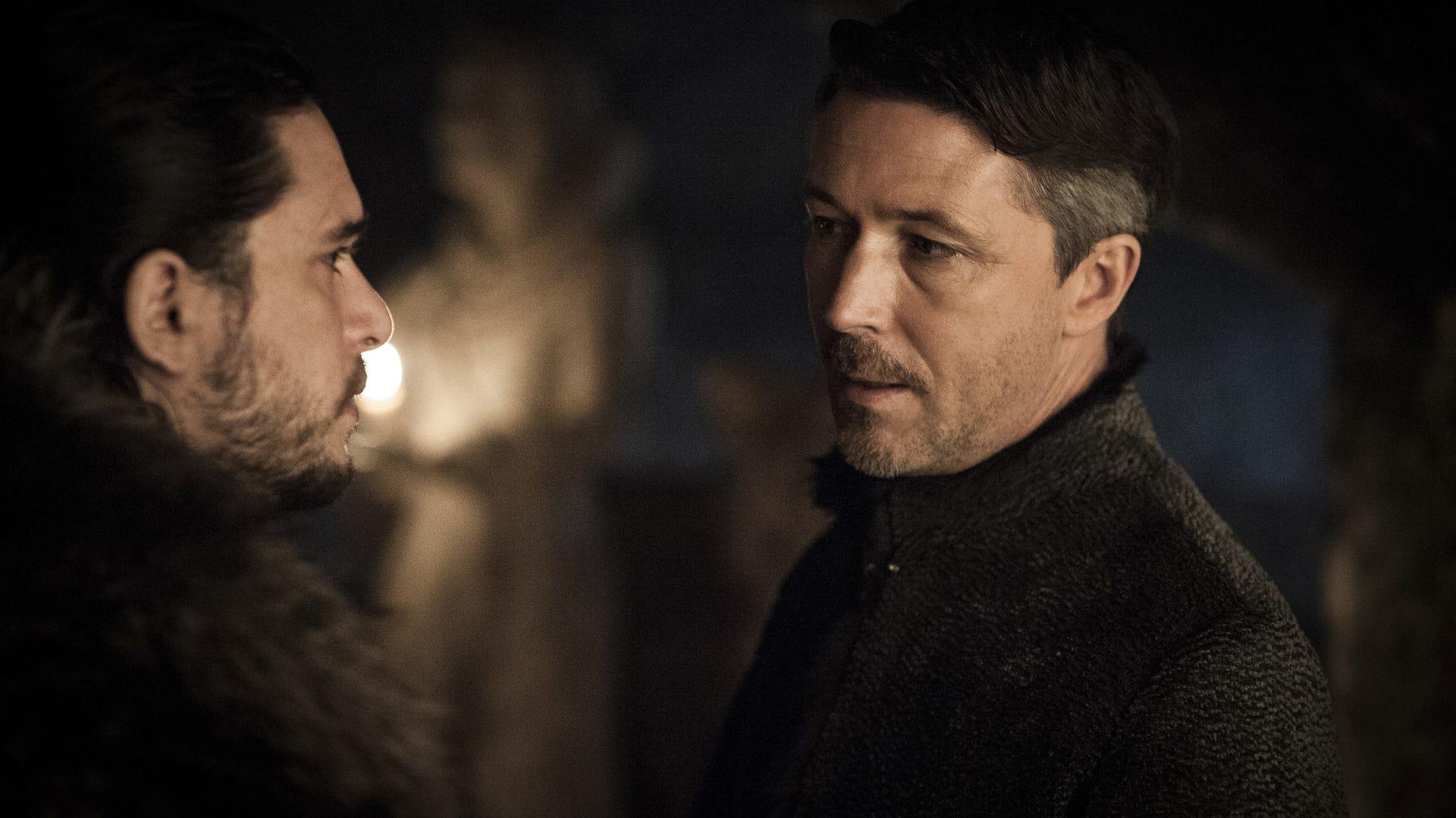 Kit Harington and Aidan Gillen, Game of Thrones