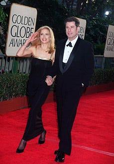 John Travolta and Kelly Preston - The 54th Annual Golden Globe Awards, January 19, 1997