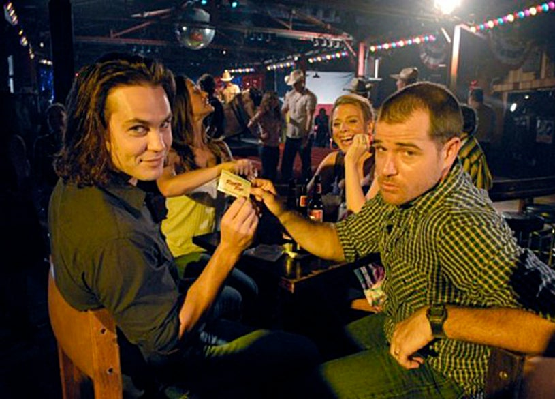 "Friday Night Lights - Season 4 - ""Stay"" - Taylor Kitsch as Tim Riggins, Derek Phillips as Billy Riggins"