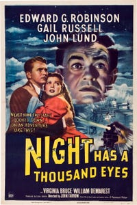 The Night Has a Thousand Eyes as Peter Vinson