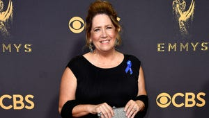 """Ann Dowd Says """"Hulu"""" Adorably While Winning Her Emmy"""
