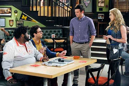 "Undateable - Season 1 - ""Pants Buddies"" - Ron Funches, Rick Glassman, Brent Morin and Briga Heelan"