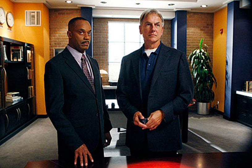 """NCIS - Season 7 - """"Outlaws and In-Laws"""" - Rocky Carroll and Mark Harmon"""