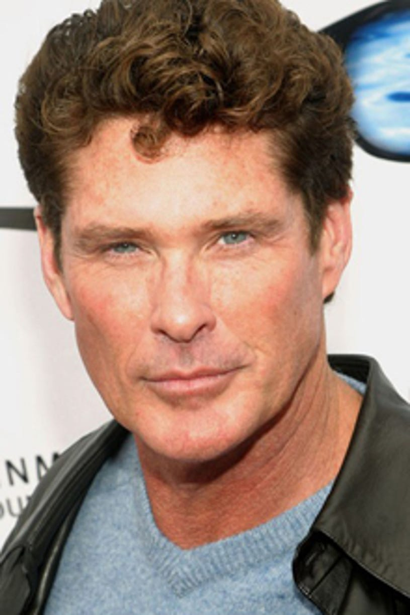 """David Hasselhoff - The 6th Annual """"QVC's Cure by the Shore"""" to Benefit the National Multiple Sclerosis Society, May 17, 2003"""