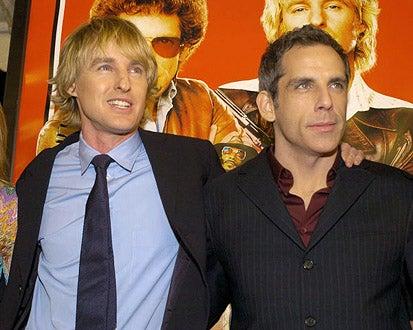 """Owen Wilson and Ben Stiller - The """"Starsky & Hutch"""" world premiere, February 26, 2004"""