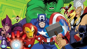 The Avengers Assemble for New Animated Series