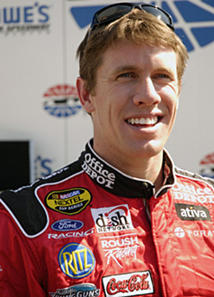 Fast Cars and Superstars: The Young Guns Celebrity Race - Carl Edwards